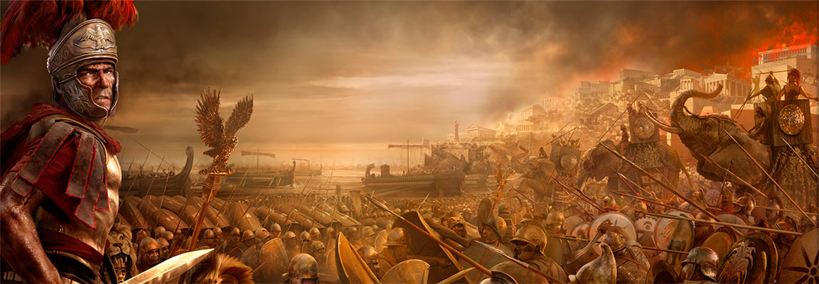 Relive the battles of the ancient world